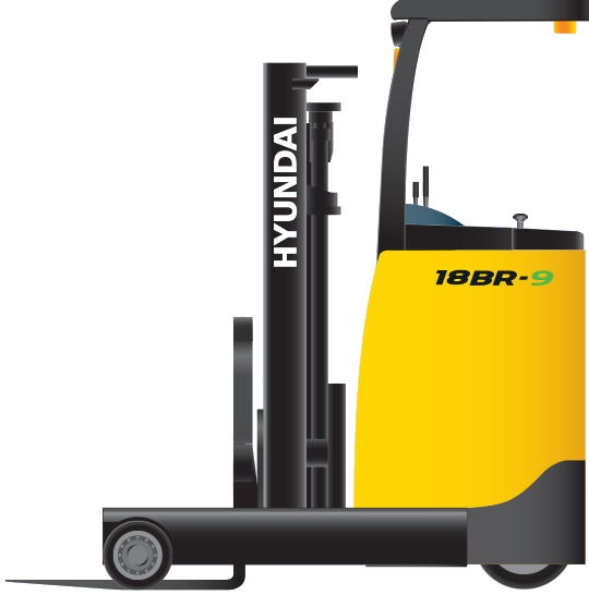 Battery Reach Truck 18BR-9
